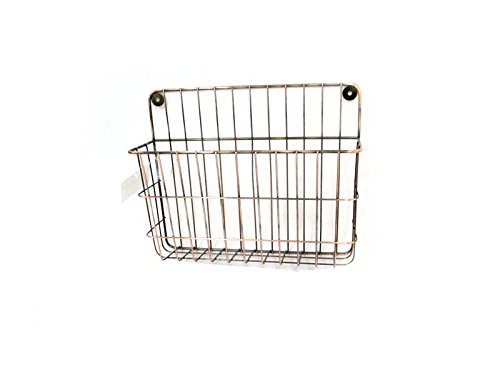 Bronze Plated Metal Wall File Holder