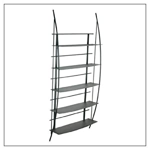Sona DVD Wall Unit - Midnight Black