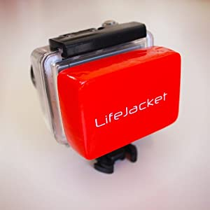 Floaty LifeJacket for GoPro Cameras - Floating accessory for backdoor