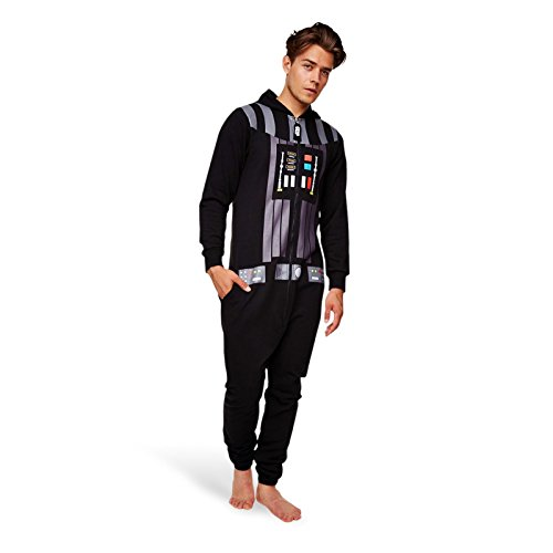 Pop Art Products Men's Star Wars Darth Vader Onesie