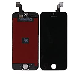 Online For Good(TM) Full LCD Display + Touch Screen Digitizer Assembly for Apple iPhone 5S - Black