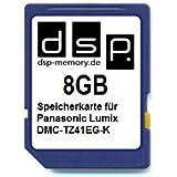 8GB Speicherkarte für Panasonic Lumix DMC-TZ41EG-K