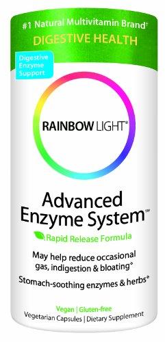 rainbow light advanced enzyme system plant source vcaps 180 vcaps. Black Bedroom Furniture Sets. Home Design Ideas