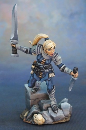 Lanelle - Female Rogue (Miniature Human Figures compare prices)