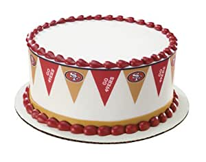 Amazon.com : San Francisco 49ers {Football Pennant} Edible ...