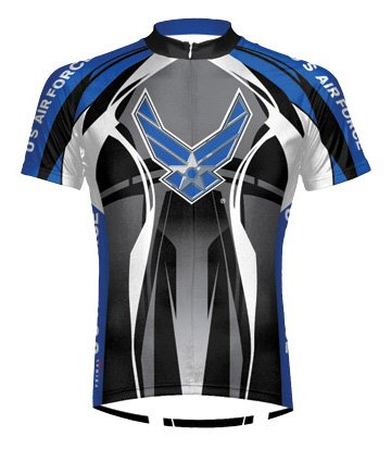 Buy Low Price Primal Wear Men's Air Force Stealth Short Sleeve Cycling Jersey – AFT1J20M (B004WXAF24)
