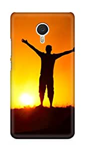 Amez designer printed 3d premium high quality back case cover for Meizu M3 Note (Sunshine)