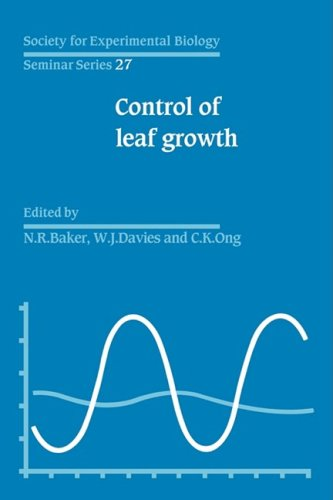 Control of Leaf Growth (Society for Experimental Biology Seminar Series)
