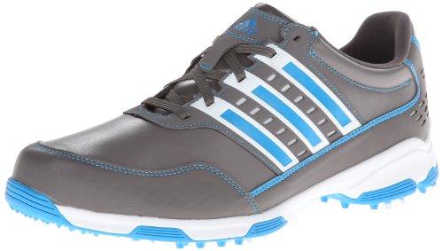 Adidas  Traxion Men S Golf Shoe White Blue