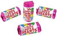 Love Heart Mini Rolls (pack of 100) by SAR-Holdings Limited