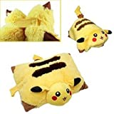 Pokemon Pillow (Cushion) Pokemon Pikachu Plush Doll New Limited 33CM