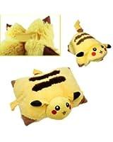 Pokemon Pillow (Cushion) Pokemon Pikachu Plush Doll New Limited 33CM