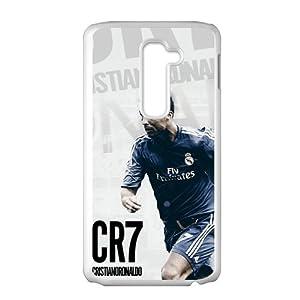 Amazon.com: HUAH CR7 Cristiano Ronaldo Cell Phone Case for LG G2