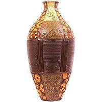 ARTELIER Polyresin Vase (55 Cm X 27.3 Cm X 55 Cm, ID-4496-008)
