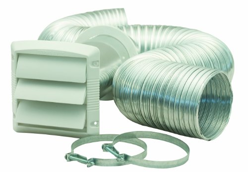 Dundas Jafine Mlfvk48E Semi-Rigid Aluminum Dryer Vent Kit front-505092