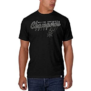 San Antonio Spurs 47 Brand 2014 Western Conference Champions Black Scrum T-Shirt by