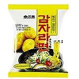三養食品 カムジャ麺(袋) 5袋セット (韓国じゃがいもラーメン)