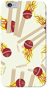 CimaCase Cricket Balls Designer 3D Printed Case Cover For Apple iPhone 6 Plus