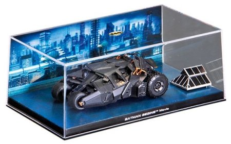 Batman - Batmobile from Batman Begins Movie 1:43 scale model