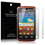 Samsung S5690 Galaxy XCOVER Screen Protector 2-in-1 Pack Case Foil Guard Film Cover terrapin From The Keep Talking Shop Samsung S5690 Galaxy XCOVER Accessories