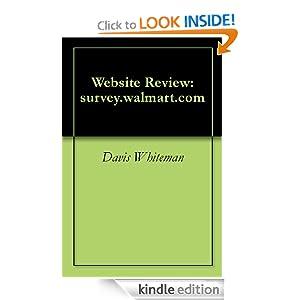 Download Website Review: survey walmart com ebook - Mon