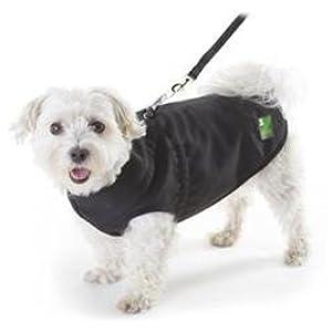 Pawz Black 1Z Coat, 18-Inch Long/28-Inch Girth