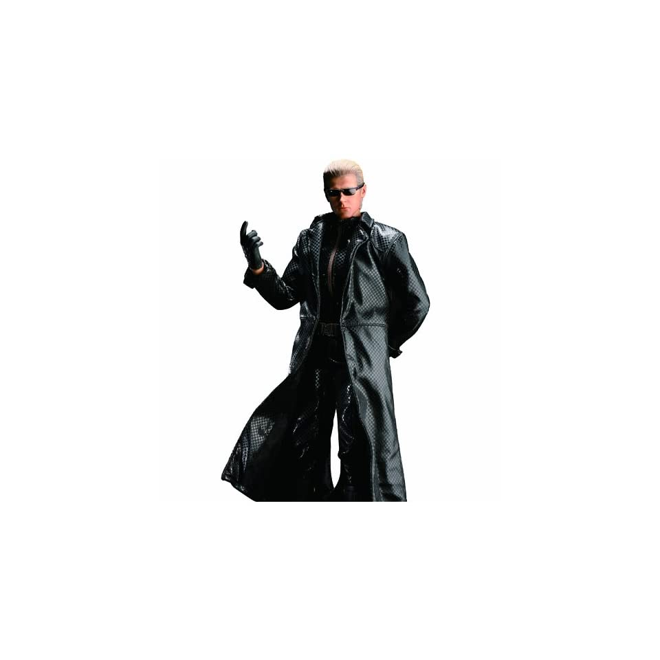 Sideshow Collectibles Hot Toys Video Game Masterpiece Resident Evil 5 12 Inch Deluxe Figure Albert Wesker