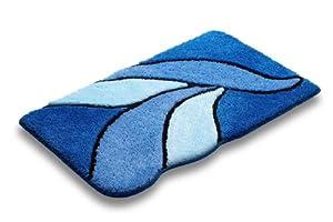 Beautiful Royal Blue 100 Cotton Reversible Bath Mat Size 17quotx24quot  Walmartcom