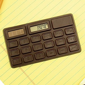 Chocolate Scented Calculator [Office Product]
