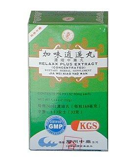 Relaxx PLUS extrait (JIA WEI XIAO YAO WAN) 160mg