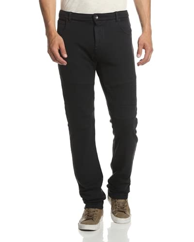 Rogue Men's Solid Moto Sweatpant