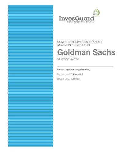 goldman-sachs-comprehensive-corporate-governance-report-english-edition