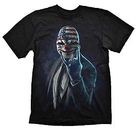 給料日2 Tシャツロックオン(中)  Payday 2 T-Shirt Rock On (medium)