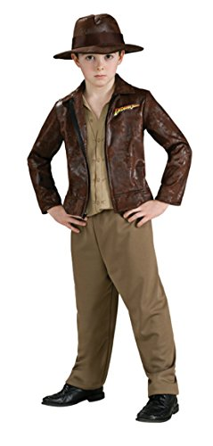 Boys Indiana Jones Deluxe Kids Child Fancy Dress Party Halloween Costume