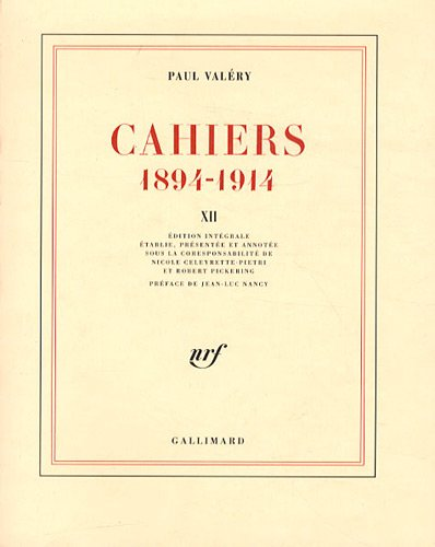 Cahiers 1894-1914 : Tome 12, 1913-mars 1914