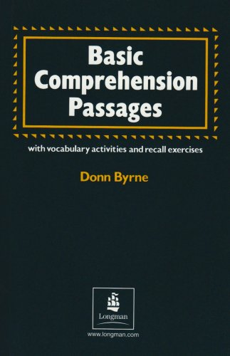 Basic Comprehension Passages with Vocabulary Activities and Recall Exercises