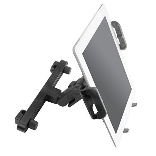 TabGRAB Tablet Car Headrest Mount Holder with Reinforced No-Slip Display Design for Samsung Galaxy Tab 3 10.1 / Acer Iconia / ASUS MeMO Pad FHD 10 , VivoTab RT & More 10-inch Tablets