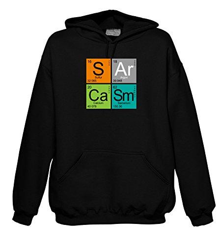 Geek Sarcasm 702279 cappuccio Elements