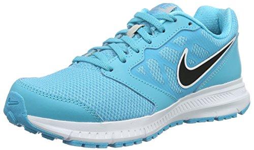 Nike Donna Wmns Downshifter 6 Scarpe da Ginnastica Basse, Blu (Azul (Gamma Blue / Blck Mtllc Slvr Wht)), 39 EU