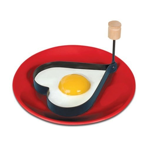 Archie McPhee Accoutrements I Love You Heart Egg Shaper