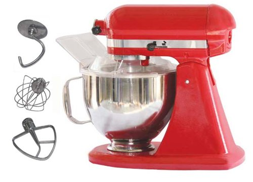 Kitchenaid style iMix Food Mixer Red Colour Model JH-350A