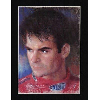 Jeff Gordon NASCAR 24 poster print auto racing RARE - 16x20