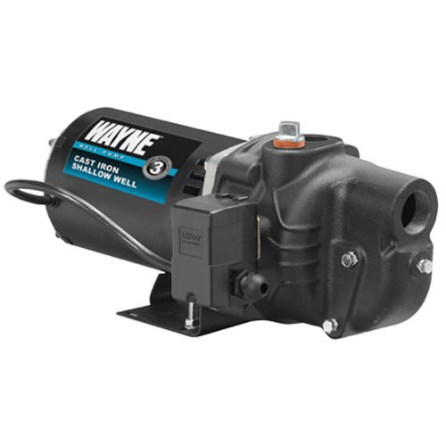 WAYNE SWS50 1/2 HP Cast Iron Shallow Well Jet Pump (Wayne Portable Pump compare prices)