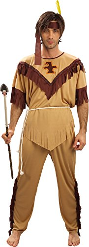 Bristol Novelty Brown Indian Man Budget Adult Costume - Men's - One Size