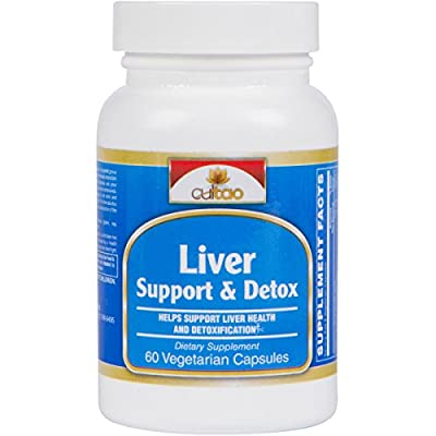 Premium Liver Support & Detox Cleanse Supplements - Milk Thistle, Picroliv®, NAC, Turmeric Root Extract, Dandelion Root Extract, Vitamin C & B - Support Liver Health & Function - 60 Vcaps - Vegetarian