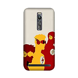 StyleO Asus Zenfone 2 Designer Printed Case & Covers (Asus Zenfone 2 Back Cover) - Superhero Flash