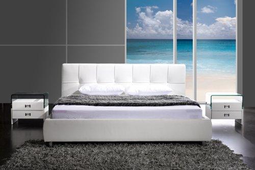 SAM® Polsterbett Funky in weiß 180 x 200 cm