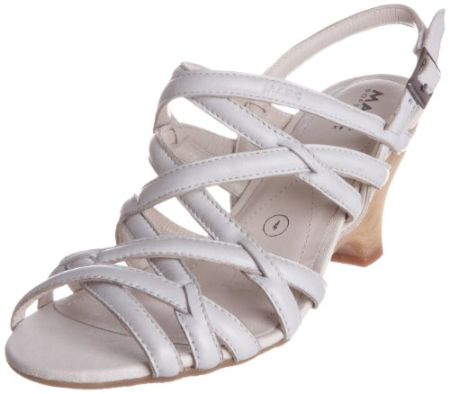 Marc Women's Mara 1.457.01-18 210 Off White Open Toe Off White 9146210 7 UK