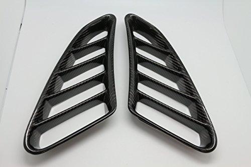 Kotflügel-Lüftungsgitter für Porsche Boxster 987, aus Karbonfaser, 2 Stück