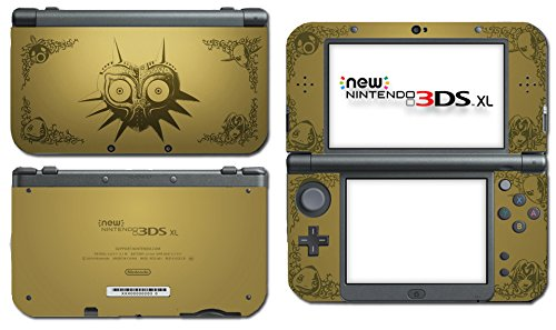 Legend of Zelda Majora's Mask Special Edition 2.0 Video Game Vinyl Decal Skin Sticker Cover for the New Nintendo 3DS XL LL 2015 System Console
